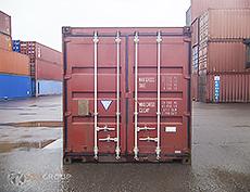 40 футовый контейнер бу влд